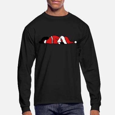 Claus Santa Claus is sleeping - Men's Longsleeve Shirt