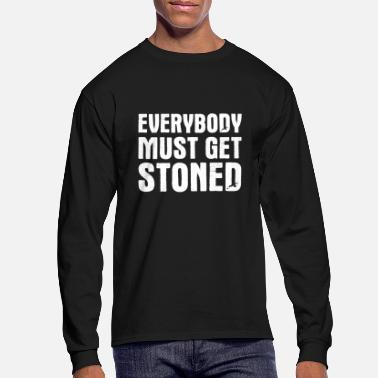Everybody Must Get Stoned - Men's Longsleeve Shirt
