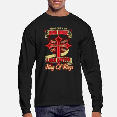 Jesus Love The Property Of Jesus Christ Shirt - Men's Longsleeve Shirt