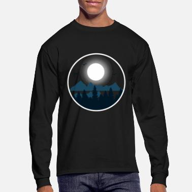 Full Moon Full moon - Men's Longsleeve Shirt