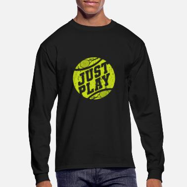 Tennis Ball Tennis Ball - Men's Longsleeve Shirt