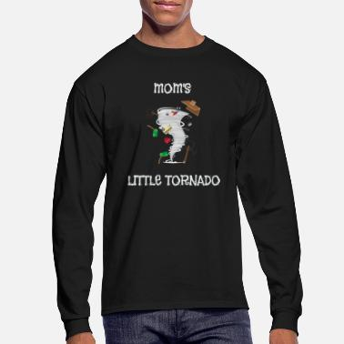 Cute Tornado Cute Mom's Little Tornado Kids - Men's Longsleeve Shirt