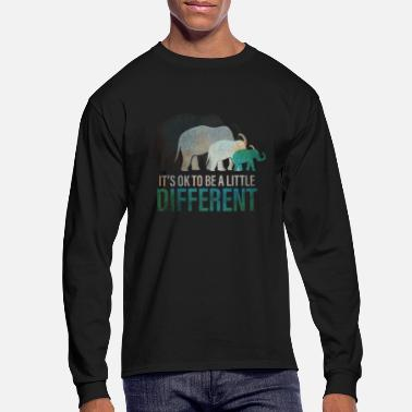 Ok Elephant Its ok to be different - Men's Longsleeve Shirt