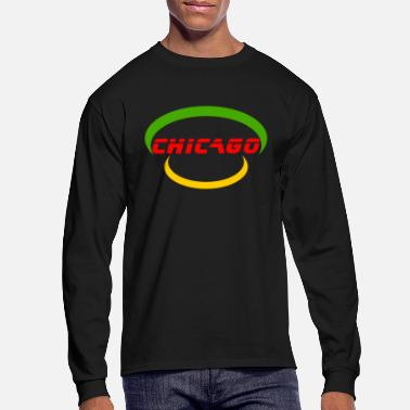United States Of America Chicago - United States Of America - Men's Longsleeve Shirt
