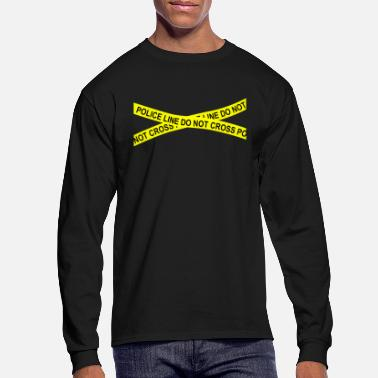Scene POLICE LINE DO NOT CROSS - Men's Longsleeve Shirt