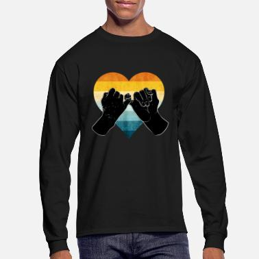 Bff Love Promise Friendship - Men's Longsleeve Shirt