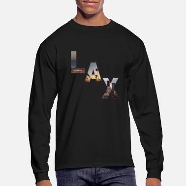 Lax Jetsetter Collection - LAX Edition - Men's Longsleeve Shirt