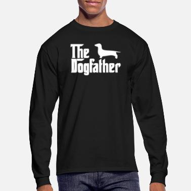 Dachshund The Dogfather Dachshund - Men's Longsleeve Shirt