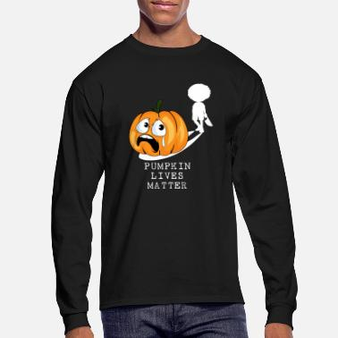 Pumpkin Funny Halloween Pumpkin Costume | Pumpkin Lives - Men's Longsleeve Shirt