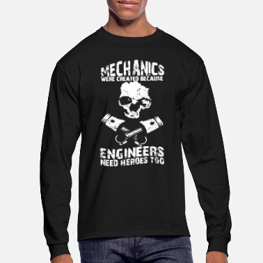Mechanical Engineering Mechanics Engineers Shirt - Men's Longsleeve Shirt