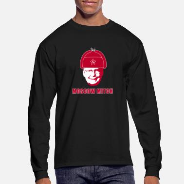 Moscow Moscow Mitch, Red - Men's Longsleeve Shirt