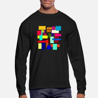 Rectangle Rectangles - Men's Longsleeve Shirt