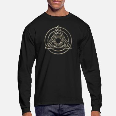 Triple Triquetra, Trinity, Symbol of perfection - Men's Longsleeve Shirt