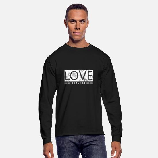 Turbo Long-Sleeve Shirts - tractor pulling - Men's Longsleeve Shirt black