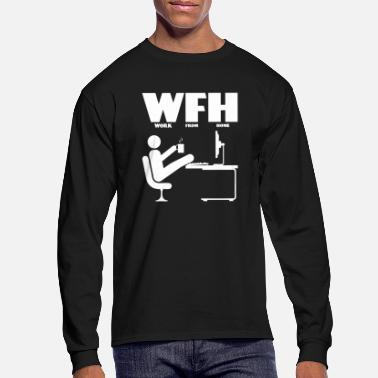 Summer WFH - Men's Longsleeve Shirt
