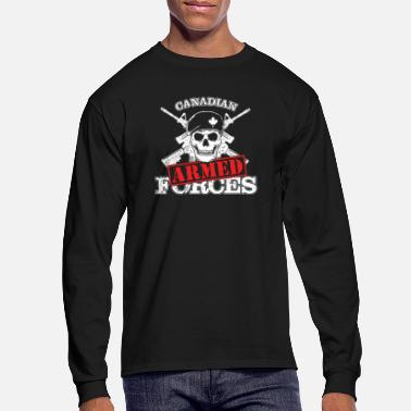 Armed Forces Canadian Military - Men's Longsleeve Shirt