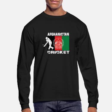Cricket Afghan cricket team gift Afghanistan - Men's Longsleeve Shirt