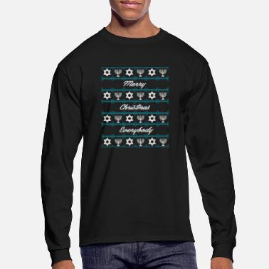 Pattern xmas sweater pattern - Men's Longsleeve Shirt