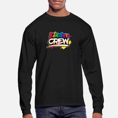 Elementary Kinder Crew design| Kindergarten Teacher Gifts - Men's Longsleeve Shirt