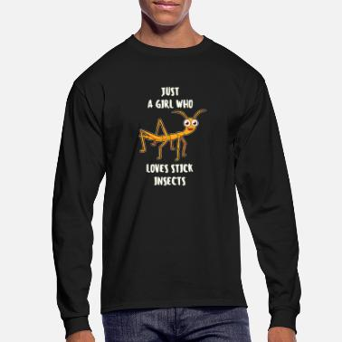 Insect Just A Girl Who Love Stick Insects Stick insect - Men's Longsleeve Shirt