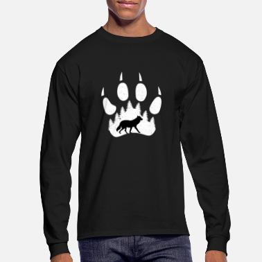Enviromental Enviromental protection paw - Men's Longsleeve Shirt