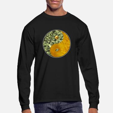 Bud Buds and Dabs Yin Yang - Men's Longsleeve Shirt