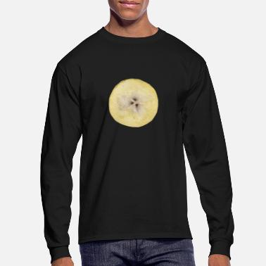 Sliced Fruit Banana Slice Fruit - Men's Longsleeve Shirt