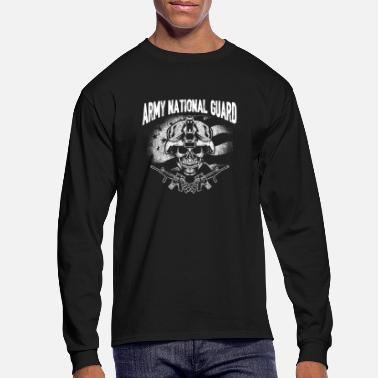 National Army national guard - T - shirt for guards support - Men's Longsleeve Shirt