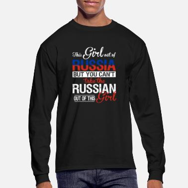 Russian Circles Russia - You can't take the russian out of her - Men's Longsleeve Shirt