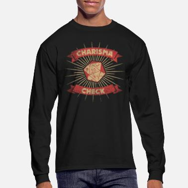 Dm Roleplay - Charisma Check - Men's Longsleeve Shirt