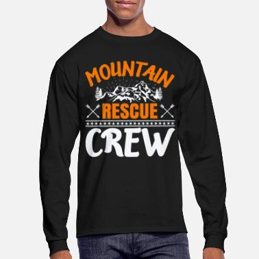 Monitoring mountain rescue mountain rescue edelweiss mountain - Men's Longsleeve Shirt
