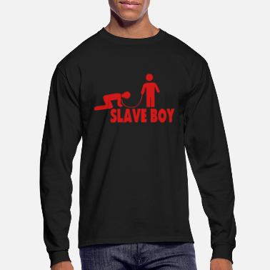 Love SLAVE BOY - Men's Longsleeve Shirt