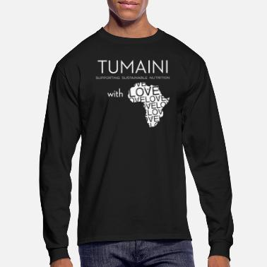 Sustainable Supporting Sustainable Farming and Nutrition in Ta - Men's Longsleeve Shirt