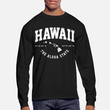 Island Hawaii Aloha State Hawaiian Islands Gift - Men's Longsleeve Shirt