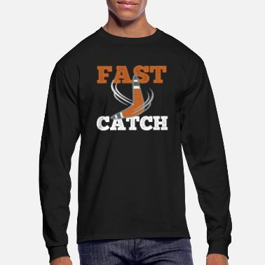 Optimism Boomerang Fast Catch Australia Sports Gift Idea - Men's Longsleeve Shirt