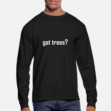 Questions Got Trees - Men's Longsleeve Shirt