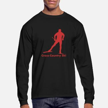 Cross Country Skiing Cross Country Skiing - Men's Longsleeve Shirt
