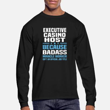 Host Executive Casino Host - Men's Longsleeve Shirt