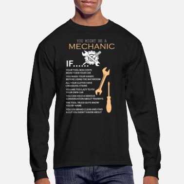 Mechanic Funny Mechanic List Gift for Mechanics Graphic - Men's Longsleeve Shirt