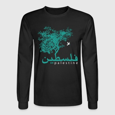 Palestine Tree - Men's Long Sleeve T-Shirt