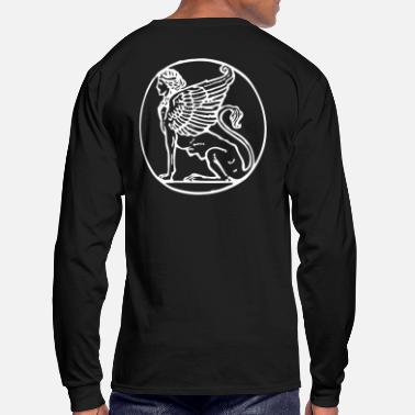 0006 The Griffin - Men's Long Sleeve T-Shirt