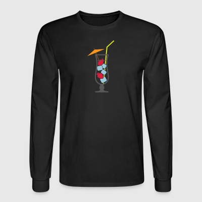 Cocktail Drinks Makes You Tipsy Unknowingly! - Men's Long Sleeve T-Shirt