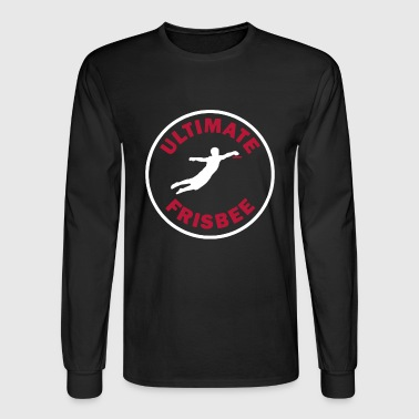 Ultimate Frisbee Shirt - Men's Long Sleeve T-Shirt