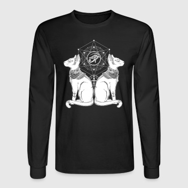 Ancient Egyptian Cats - Men's Long Sleeve T-Shirt