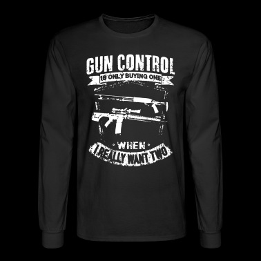 Gun Shirt - Men's Long Sleeve T-Shirt