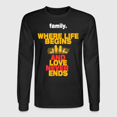 Family - Men's Long Sleeve T-Shirt