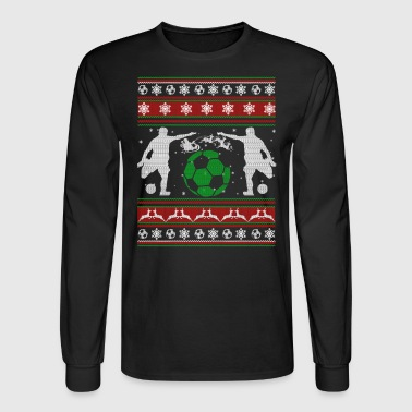 Soccer Shirt - Soccer Christmas Shirt - Men's Long Sleeve T-Shirt
