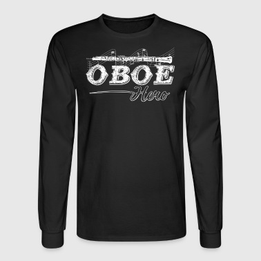 Oboe Hero Shirt - Men's Long Sleeve T-Shirt