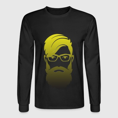 beard style - Men's Long Sleeve T-Shirt