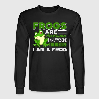 Frog Are Awesome Shirt - Men's Long Sleeve T-Shirt